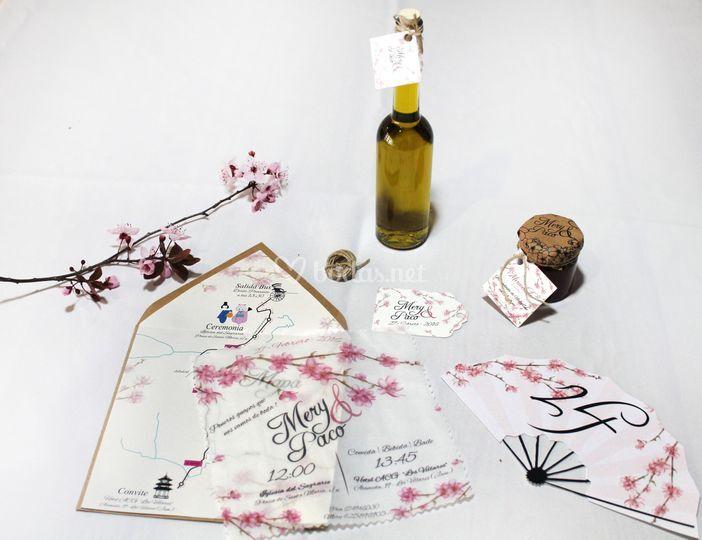 Detalles boda personalizada