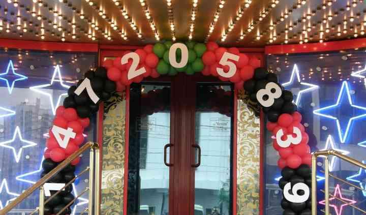 Globos estilo casino