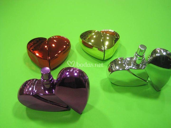 Perfumadores corazón