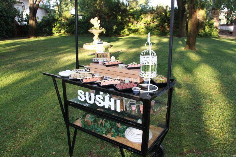 Corner sushi
