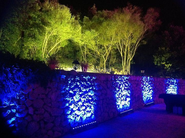 Auvipro servicios audiovisuales - Iluminacion decorativa exterior ...