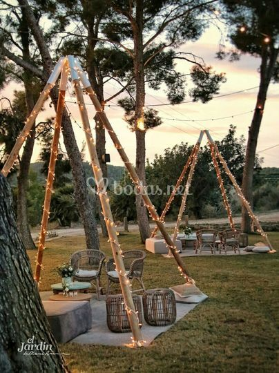 Tipis + chillout Grey