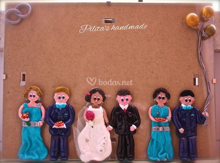 Marco fotos boda