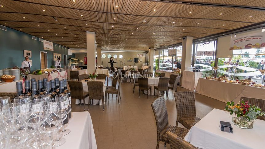 Restaurante en buffet