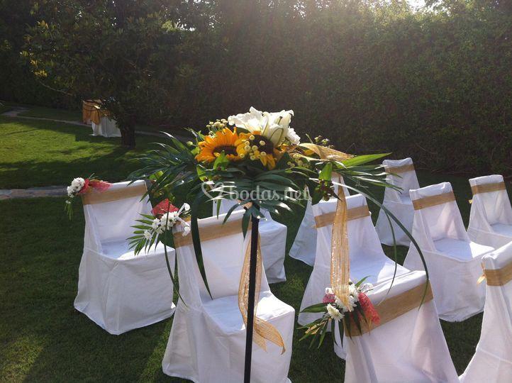 Decoración Ceremonias Civiles