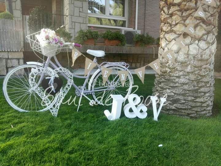 Bienvenida invitados Bici