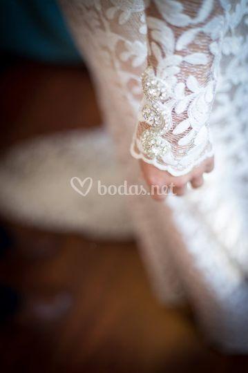 Detalles del vestido