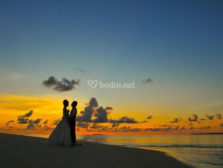 Maldivas para dos
