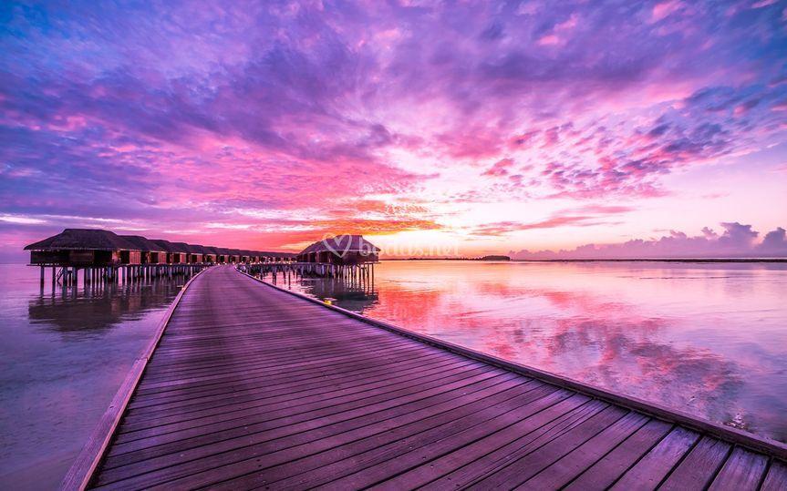 Romance en Maldivas