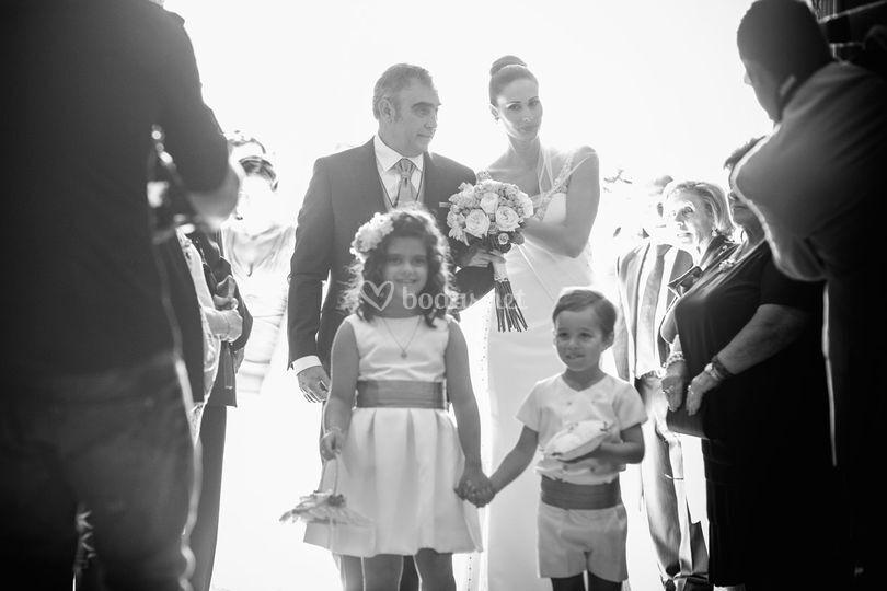 Que llega la novia