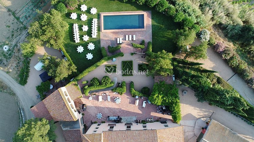 Imágenes aéreas para bodas