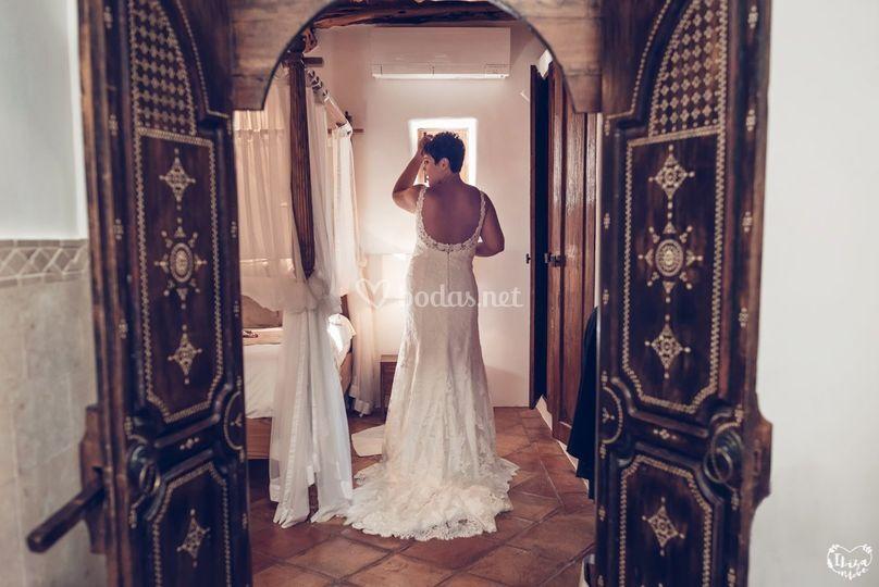 Prepativo de la novia