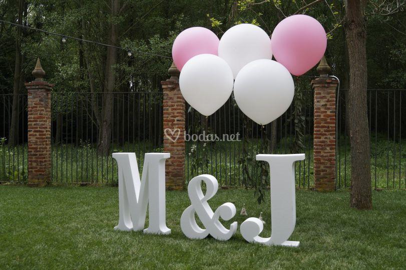 Photocall para boda civil