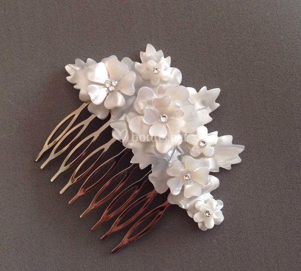 Peineta Fleurs