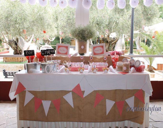 Candy bar flamenca