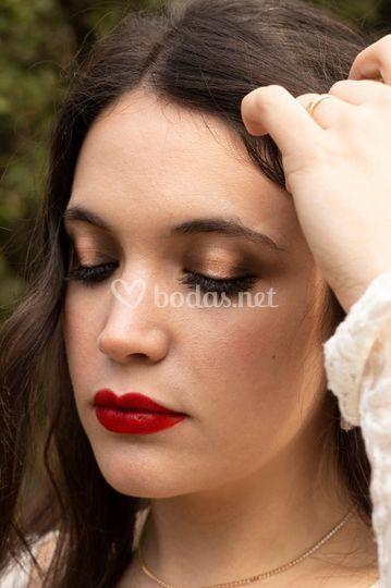 Remarcando los labios