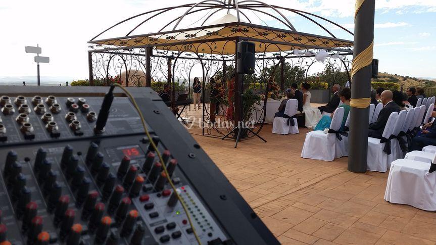 Ceremonias con sonido