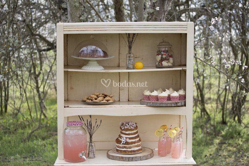 Una mesa dulce diferente