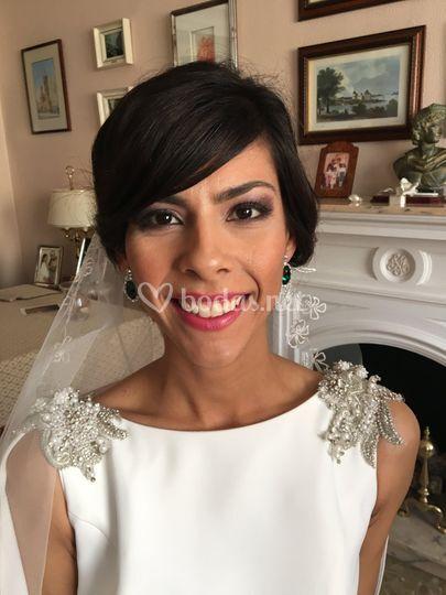 Maquillaje de novia Rosa