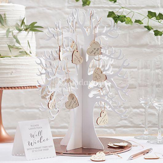 Libro de firmas - árbol 3D