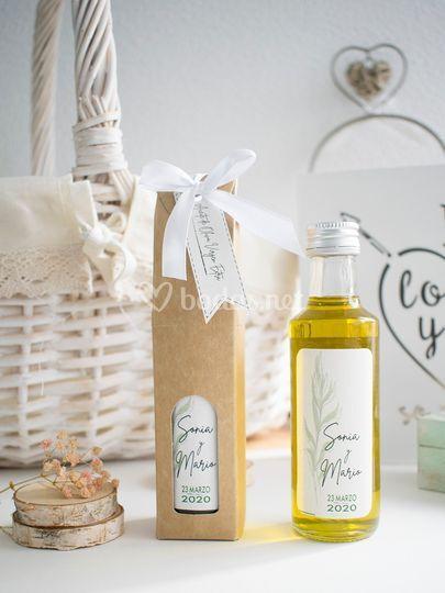 Botellita de aceite de oliva