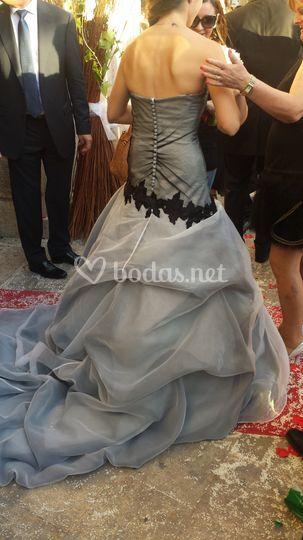 Un vestido único