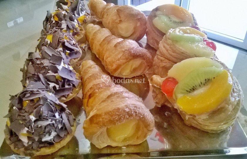 Algunos pasteles variados