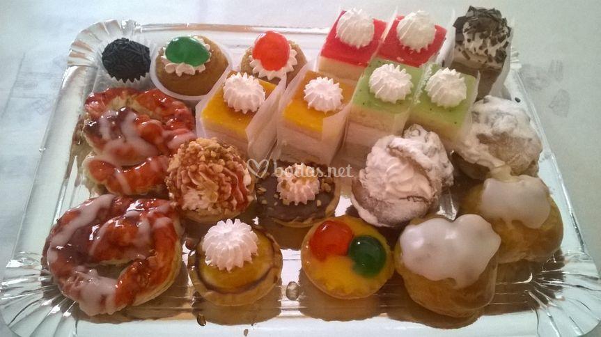 Mini pastelillos surtidos