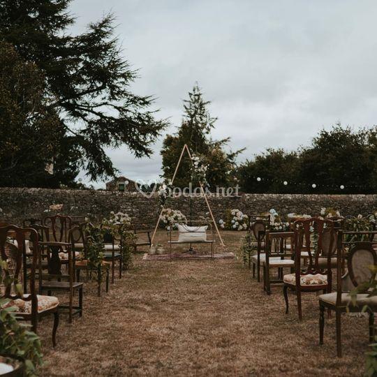 Ceremonia en el campo