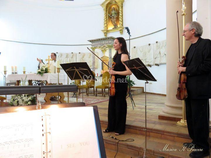 Trío de dos violines y piano