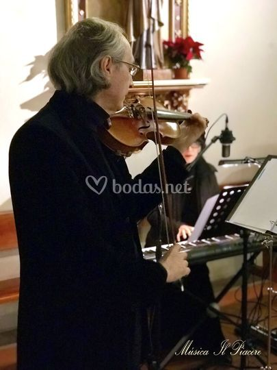 Violín y piano para tu boda