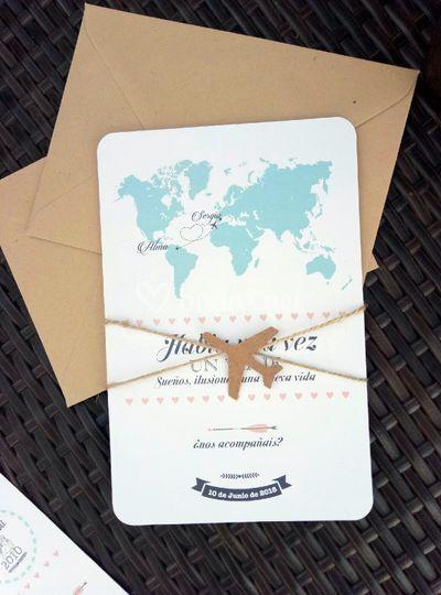 Invitación Travel & You