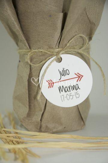 Packaging detalles boda