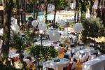 Vista jard�n de Hotel - Restaurante Garbi