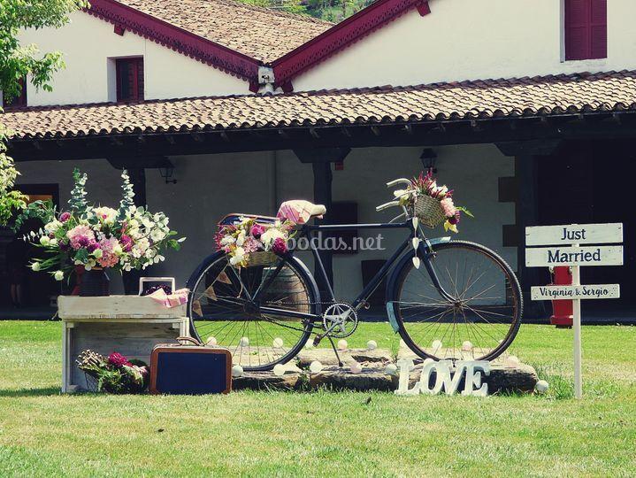 Photocall bici - bodegas cvne