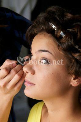 Maquillaje tonos suaves