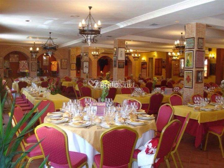 Comedor para 250 personas