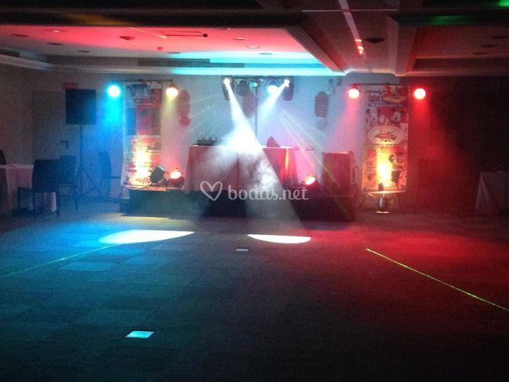 DJ (Sonido e iluminación)