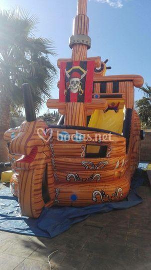 Hinchable barco