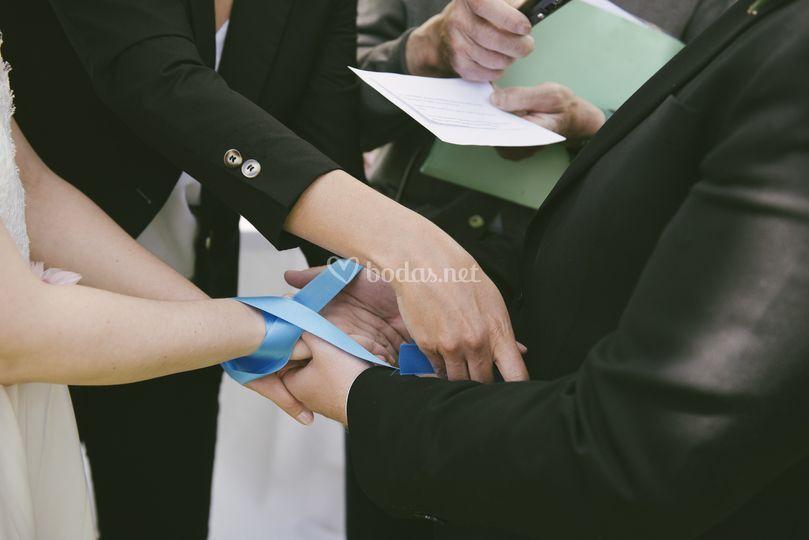 Unión de manos