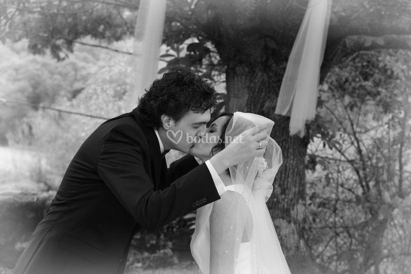 """Beso del """"sí, quiero"""""""