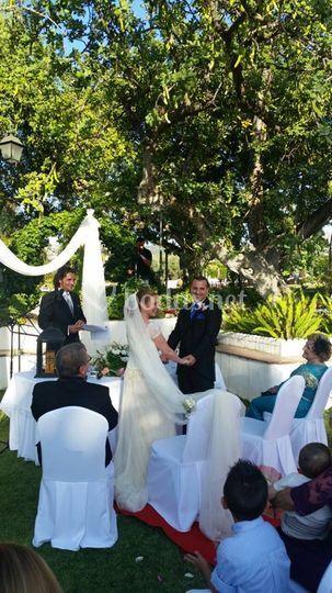 Ceremonia en Masia
