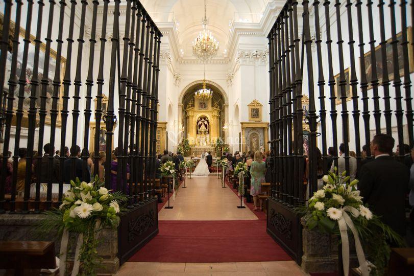 Camino al altar