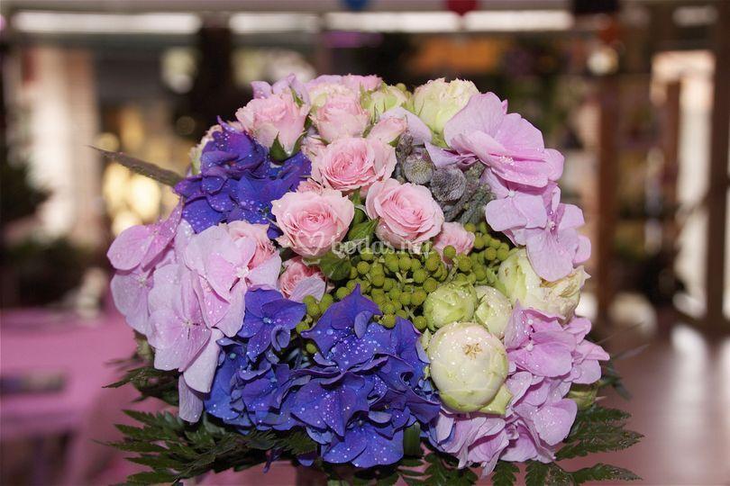 Bouquet flores de temporada