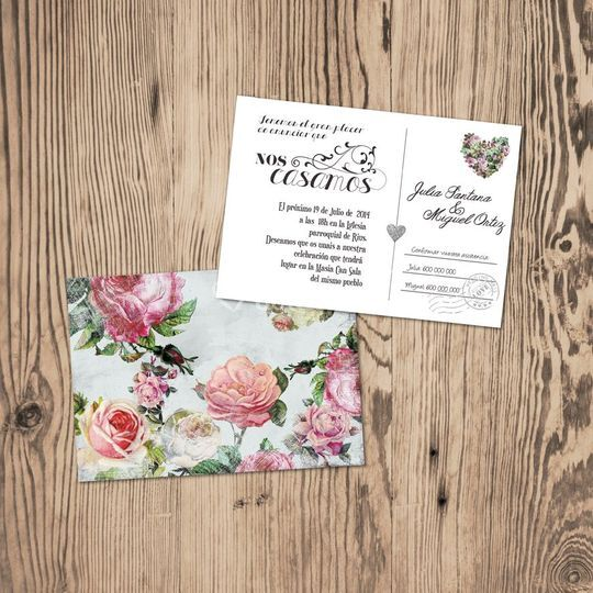 Invitación A6 Postal