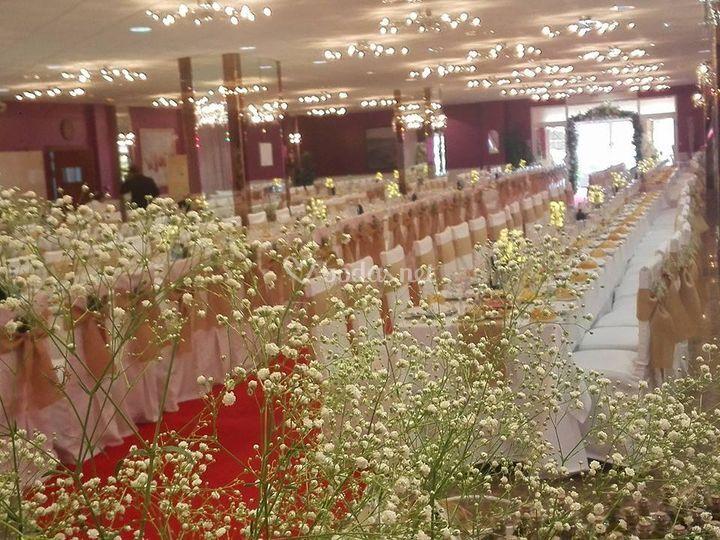 Sala principal para 500 invitados