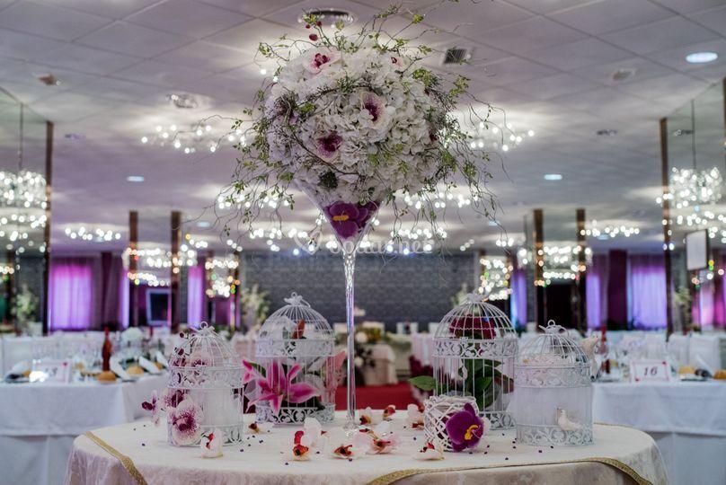 Salón de bodas principal