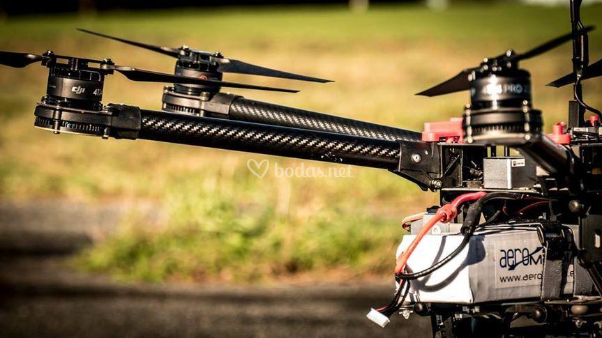 S900 para imágenes aéreas