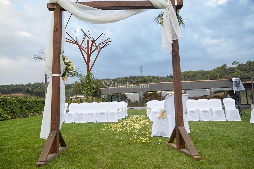 Lugar ceremonia