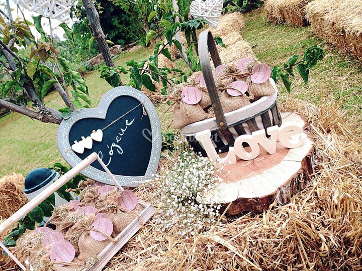 Ambiente de ceremonia para bodas